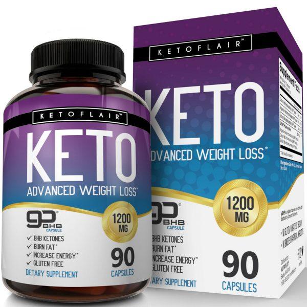 ☀ Best Keto Diet Pills 1200mg GoBHB® 90 Capsules -Weight Loss Perfect Fat Burner 1