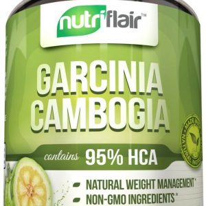 ▶ Pure Garcinia Cambogia 95% HCA Extract Best Weight Loss Diet Pills, Fat Burner 1