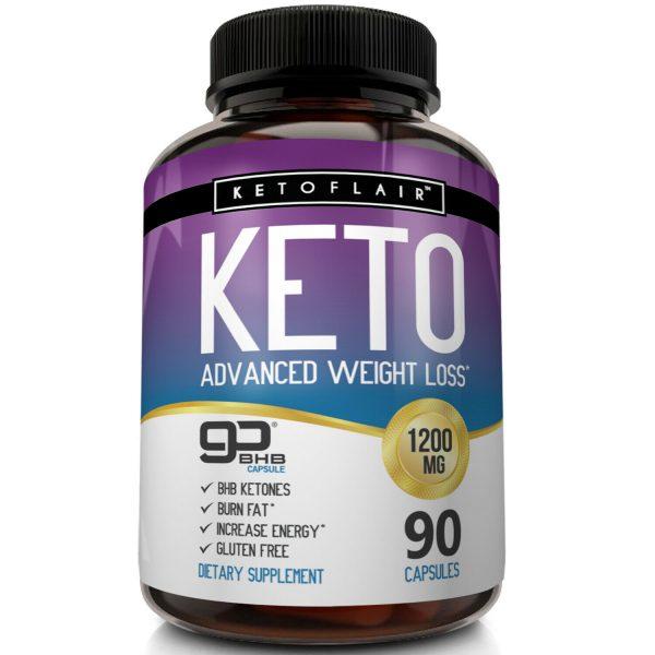 ☀ Best Keto Diet Pills 1200mg GoBHB® 90 Capsules -Weight Loss Perfect Fat Burner 3