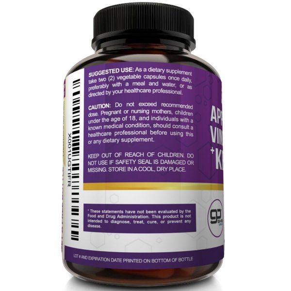 ☀ Raw Apple Cider Vinegar Capsules with Mother + Keto Diet Pills Go BHB Salts 4