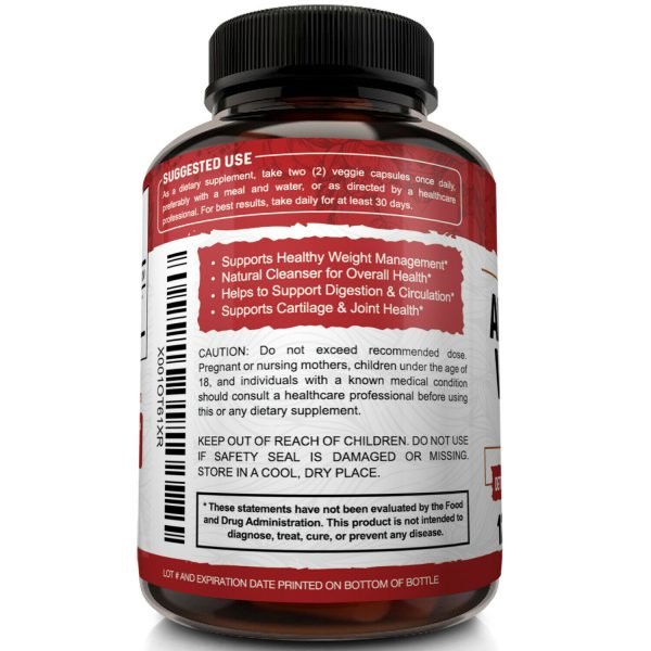 ▶ Apple Cider Vinegar Capsules - 1600mg with The Mother 120 Vegan Keto Pills 4