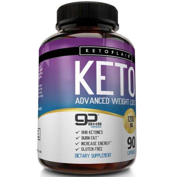 ☀ Best Keto Diet Pills 1200mg GoBHB® 90 Capsules -Weight Loss Perfect Fat Burner 4