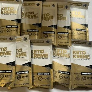 10 Packets KETO SWEET KREME by Pruvit FAST SHIPPING! 10 day supply! NEW FFT VER. 1