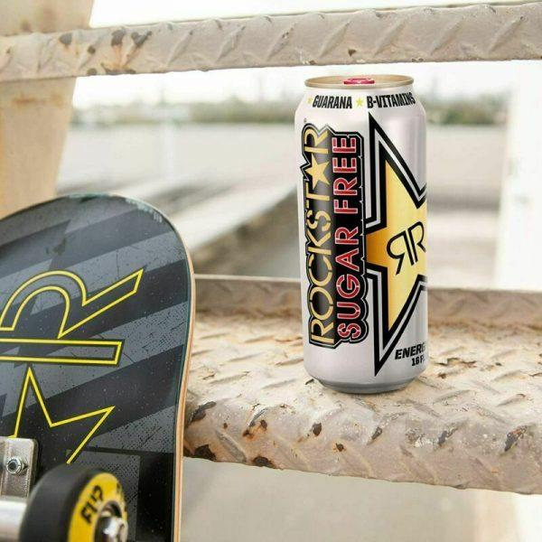Rockstar Energy Drink, Sugar Free Original Formula 16oz Cans 12 Pack O.G. Flavor 3