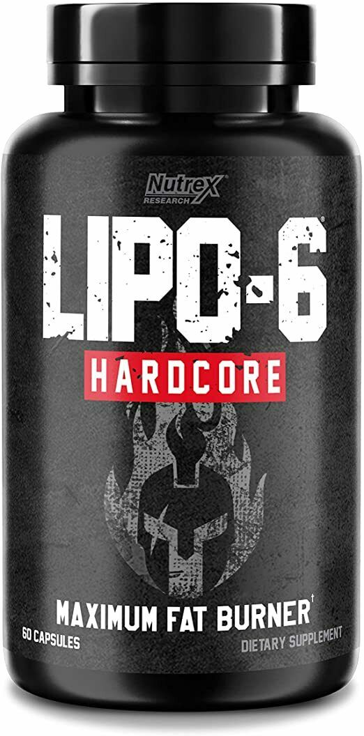 Nutrex Lipo 6 Hardcore Ultra Concentrate 60 Cap MAXIIMUM FAT BURNER  1