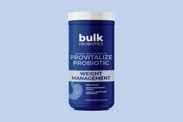 BULKPROBIOTICS Provitalize Probiotic for Weight Management & Sleep VEGAN 2