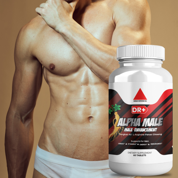 Alpha Male Testosterone Booster L Arginine, Maca, Ginseng Extract for Men 2