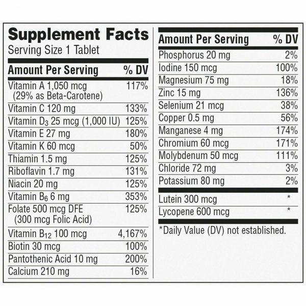 Centrum Silver 100 Tablets Men 50+ Multivitamin *EXP 9/21* 3