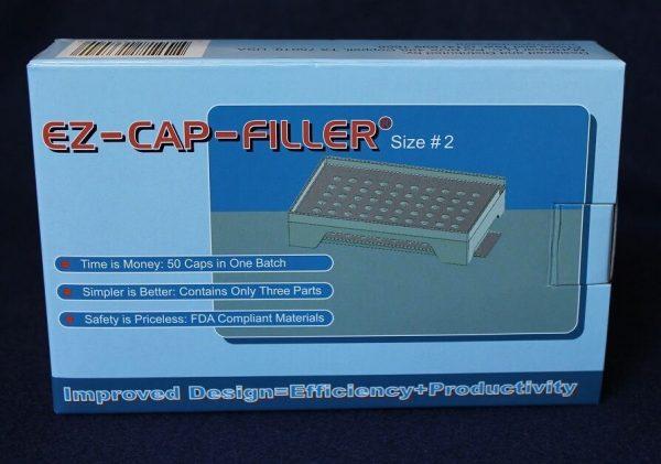 50 holes EZ-CAP-FILLER cap filler machine size 4,3,2,1,0,00,000 respectively 4