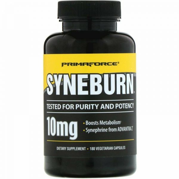 Primaforce Syneburn 10 mg 180 Veggie Caps GMP Quality Assured