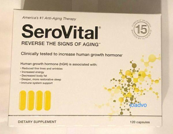 Serovital 120 Capsules DietarySupplement, 30 Days Supply 1