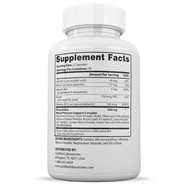 Blood Balance Advanced Formula Cholesterol Blood Sugar Pressure Support 2 Pack 2