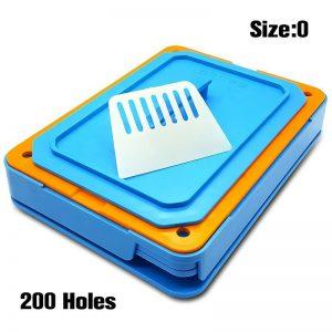 200 Holes Capsules Filler Size 0 Manual Capsul Fillings Machine with Tamper Tool