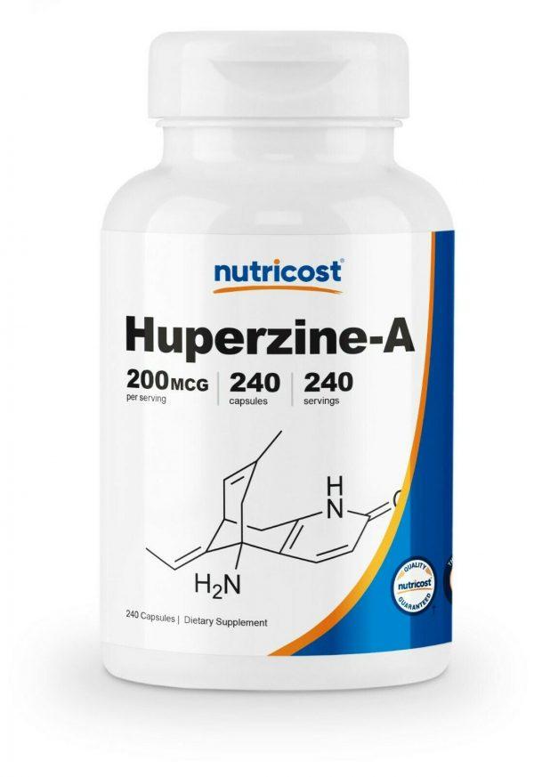 Nutricost Huperzine A Capsules 200mcg, 240 Capsules - Non-GMO, VegetariaFriendly