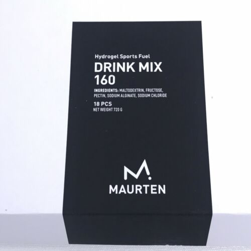 MAURTEN Drink Mix 160 Hydrgel Sports Fuel Box of 18 3