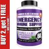 Immune Support Booster - Elderberry, Probiotics, Vitamin C, Zinc & Multi-Vitamin