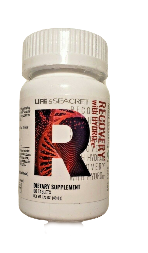 Seacret Recovery with HydroFX Supplement 90 Tablets