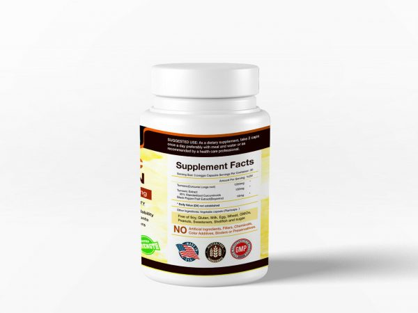 Best Selling Turmeric Curcumin with Bioperine Black Pepper 1500mg Extra Strength 2
