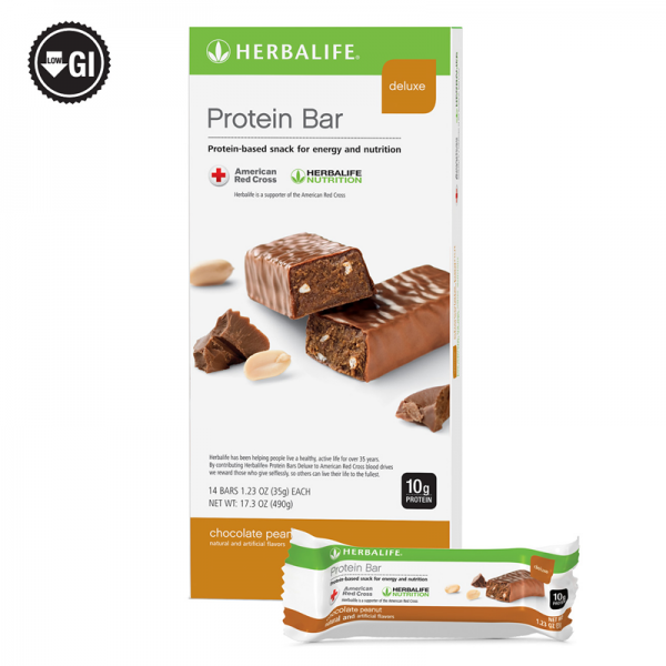 Herbalife Protein Bar Deluxe: 14 Bars per Box (ALL FLAVORS) , New Exp 2022 2
