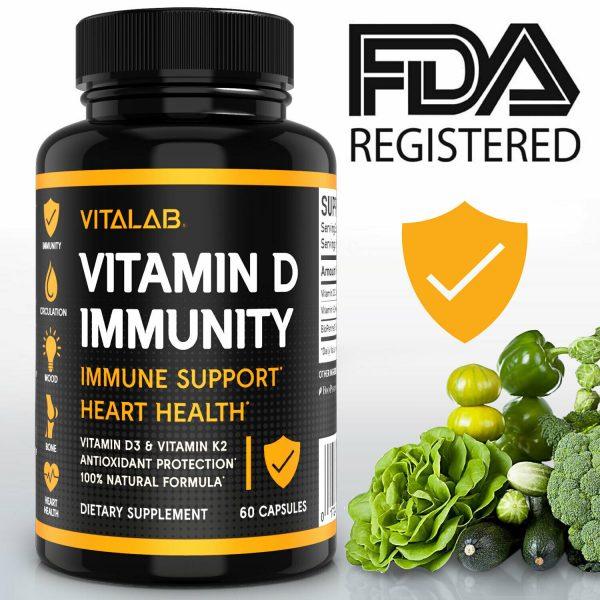 Vitamin D Immune Booster Vitamin D3 Complex 10,000 IU Supplement 4