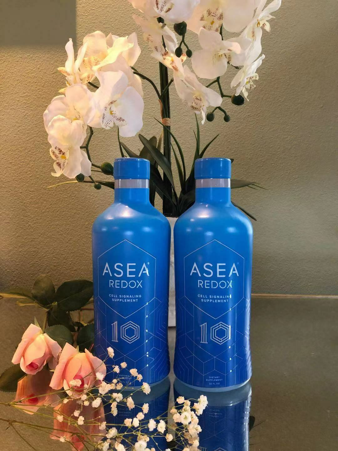 2× ASEA REDOX Dietary Supplement Bottles+Free Shipping EXP:2022