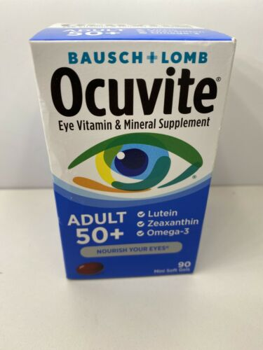 Bausch + Lomb Ocuvite Adult 50+ Eye Vitamin + Mineral - 90 Ct 06/2022 & Better