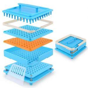 00/0# 100 Hole ABS Manual Capsule Board Filling Machine Powder Board Manufacture