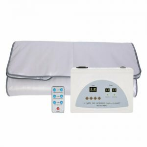 110V Heating Far Infrared Sauna Blanket Body Shape Slimming Fitness Machine Spa 1
