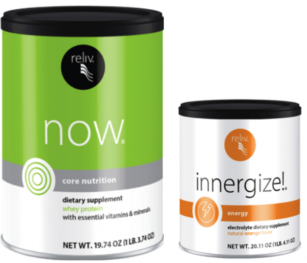Reliv Classic, Now, Innergize, & Fibrestore - Bundle Discount + Free Shipping!!! 10