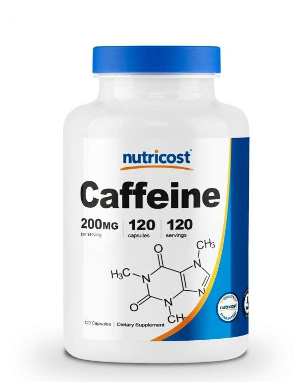 Nutricost Caffeine 200mg Pills, 120 Capsules, 120 Servings