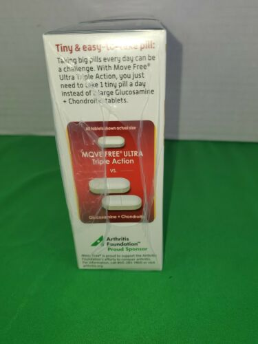 3 PK Schiff Move Free Ultra Triple Action-30 Tablets (90 Tablets Total)EXP 4/23 5