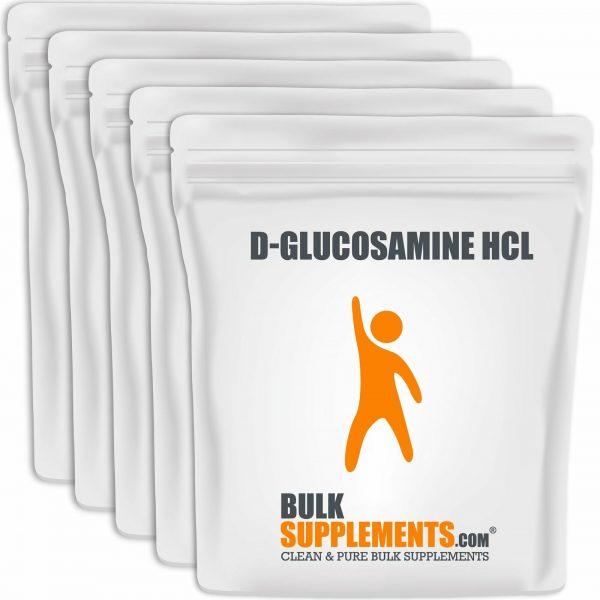 BulkSupplements.com D-Glucosamine HCl 5