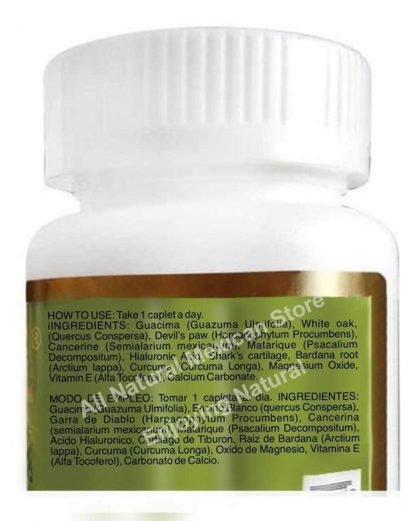 RMSOL GRACIAN ACIDO HIALURONIC reinforced whit TUMERIC ROOT Arthritis Joint Pain 2