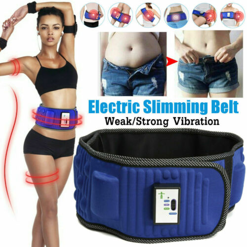 Electric Sauna Slimming Belt Body Shaper Weight Loss Waist Fat Cellulite 3