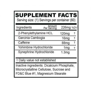 (1) Bottle Phent37 [60 Tablets] Fat Burner Appetite Suppressant 1