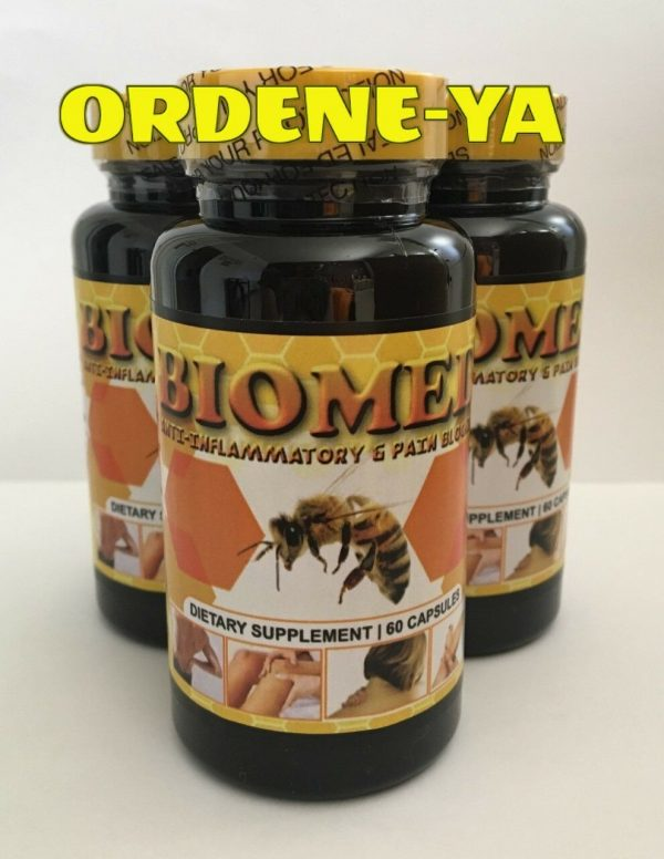 3 BIOMED Anti-Inflamatory Bee Therapy Arthritis Pain Muscle Miracle Control Cure 1