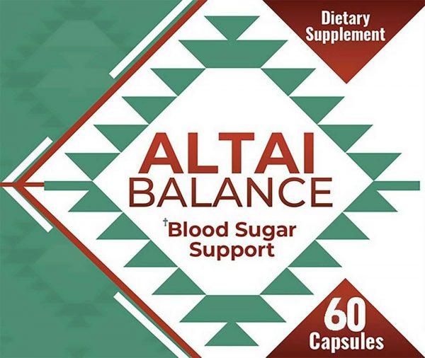 Altai Balance Herbal Supplement Supports Blood Sugar - Glucose Metabolism - New