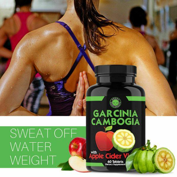 Weight Loss Garcinia Cambogia w/ Apple Cider Vinegar & CLA, ACV Fat Burner Pills 7