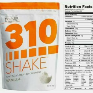 310 Nutrition 310 Shake Plant-Based Meal Replacement - Vanilla - SAME DAY SHIP