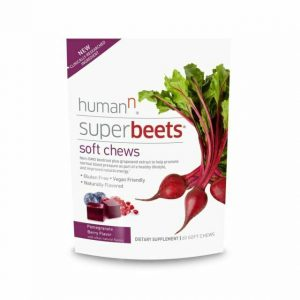 HumanN SuperBeets Grape Seed Soft Chews - 60 Count