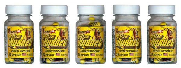 Yellow Hornets Weight loss & Energy Supplement 100ct 5x20ct Bottles Exp.12/2023
