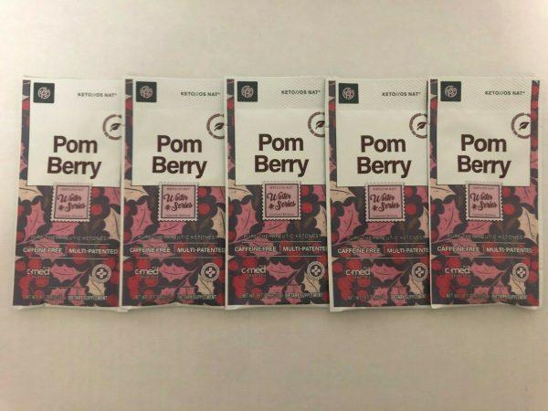 New Pruvit Keto OS NAT Pom Berry 5,10 & 20 Packs Free Shipping 3