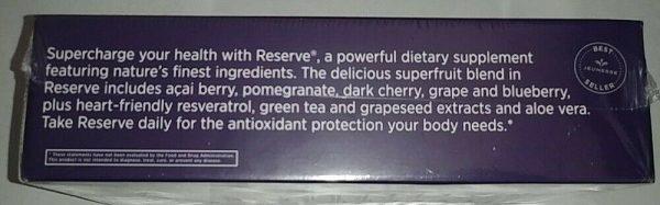 Jeunesse RESERVE Resveratrol Antioxidant DIETARY Supplement Exp 04/22 2
