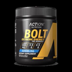 BOLT Pre-Workout Energy, Strength & Focus 30 Servings - Pick a Flavor! 1