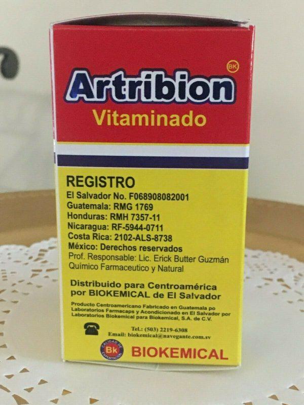 ARTRIBION Vitaminado Artritis, Inflamacion, Dolor, Reumatismo 30 soft Capsules  6