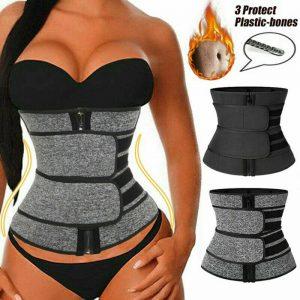 Women Waist Corset Trainer Sauna Sweat Yoga Weight Loss Body Shaper Slimmer Belt