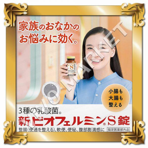 Japan Supplement New BIOFERMIN S Lactic Acid Bacterium 540 Tablets FS 1