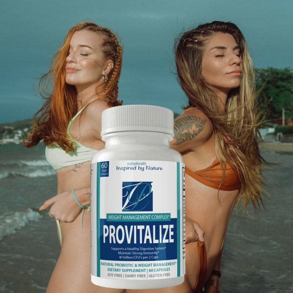 2 Bottle Pack Provitalize Probiotic Weight Management Pills ORIGINAL by n4h 8