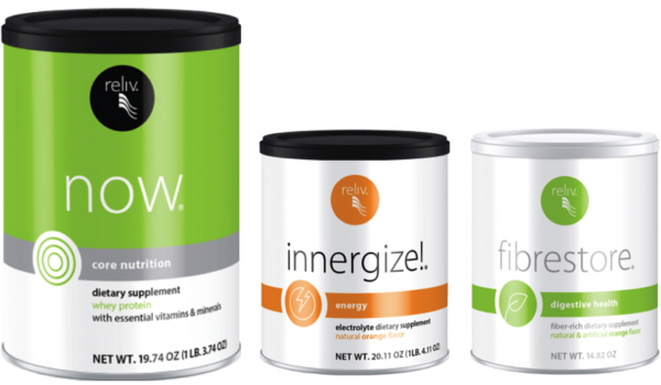 Reliv Classic, Now, Innergize, & Fibrestore - Bundle Discount + Free Shipping!!! 4