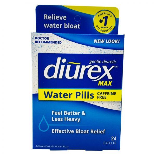 Diurex Max Water Pills - Maximum Strength Caffeine Free Diuretic - Relieve Wa...